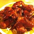 Sticky BBQ Chicken & Slaw