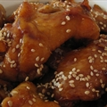 Sticky, Spicy Chicken Wings