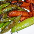 Stir Fried Garlic Snow Peas