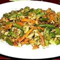 Stir-fried Shrimp and Vegetables