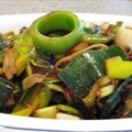 Stir-fry Leek