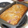 Strawberries & Cream Banana Bread