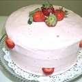 Strawberry Dessert Cake