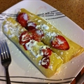 Strawberry Dessert Crapes