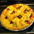 Strawberry-Rhubarb Pie #1