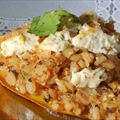 Stuffed Squash with Herbed Goat Cheese