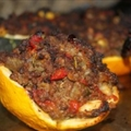 Stuffed Zucchini ( by Sarah Fragoso )