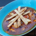 Super Simple Chicken (or Turkey) Tortilla Soup