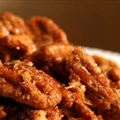 Sweet and Spicy Candied Pecans