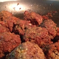 Sweet and Spicy Greek Meatballs