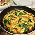 Sweet Potato, Spinach & Feta Frittata