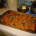 Sweet Potatoes with Rosemary and Garlic