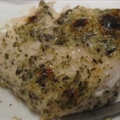 Swordfish with Herb Sauce