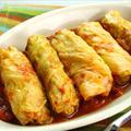 Syrian Cabbage Rolls (Mihshee Malfoof bi Burghul)