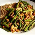 Szechuan Turkey & Green Beans