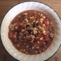 Taco Soup with Ground Turkey