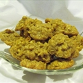 Tahini Oatmeal Walnut Cookies