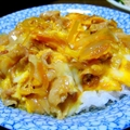 Tanindon (Beef or Pork and egg on rice)