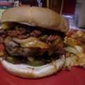 TBC's Big Chili Cheese Burger