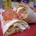 TBC's Chicken Fajita Burrito