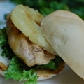 Teriyaki Grilled Chicken Breast Sandwiches with Sesame-ginger Mayo