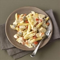 Three-Cheese Pepper Penne