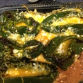 Three Cheese-Stuffed Poblano Chiles
