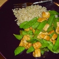 Tofu Stir Fry with Snow Peas