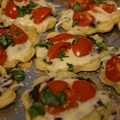 Tomato Basil Tartlets