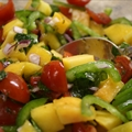 Tomato-Peach Salsa