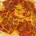 Traditional Spaghetti And  Meatballs