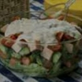 Turkey Layered Salad