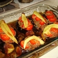 Turkish Style Stuffed Eggplants
