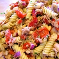 Tuscan Tuna Bean Pasta Salad