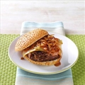 Sweet Onion BBQ Burgers