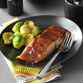 Sweet & Spicy Glazed Salmon