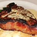 Veal Chops with Stilton Butter