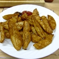 Spicy Baked Potato Wedges (Vegan)