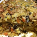 Vegan Sweet Potato Verde Enchilada Casserole