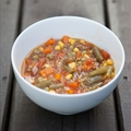 Veggie Beef Soup