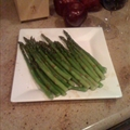 Veggie- Roasted Asparagus W/ Balsamic Butter