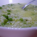Venetian Rice And Pea Soup