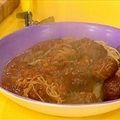 Vern's Southern Style Spaghetti and Meatballs