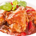 Vinces Crock Pot Chicken Cacciatore