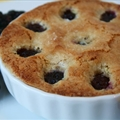 Warm Almond Blackberry Cakes