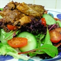 Warm Moroccan Chicken Salad