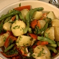 Warm Vegetable Salad