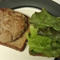 Weight Watchers Monterey Jack Turkey Burgers
