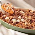 Whipped Sweet Potatoes with Coconut Streusel