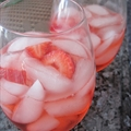 White Strawberry Sangria